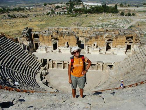 Mais um teatro romano visitado