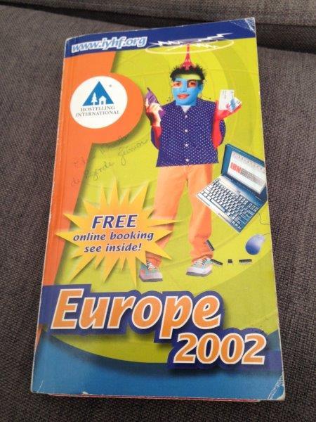 Catálogo de hostels europeus de 2002