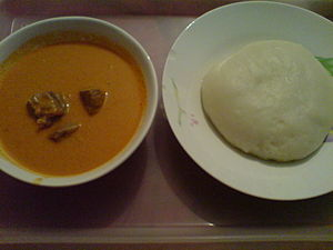 Fufu, food finger