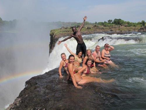 Mais uma atividade de tirar o fôlego em Victoria Falls