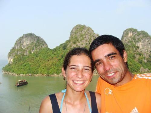 Olha a cara de felicidade do casal