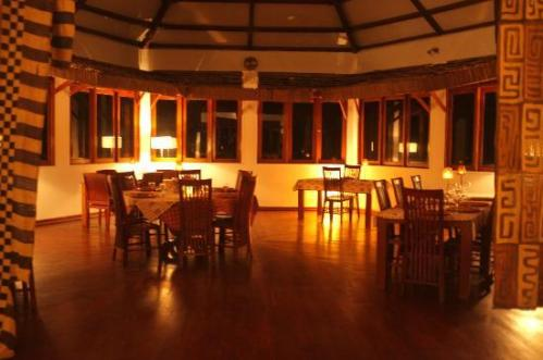 Luxo no Loango Lodge