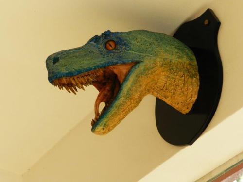 Dinossauros por todos os lados