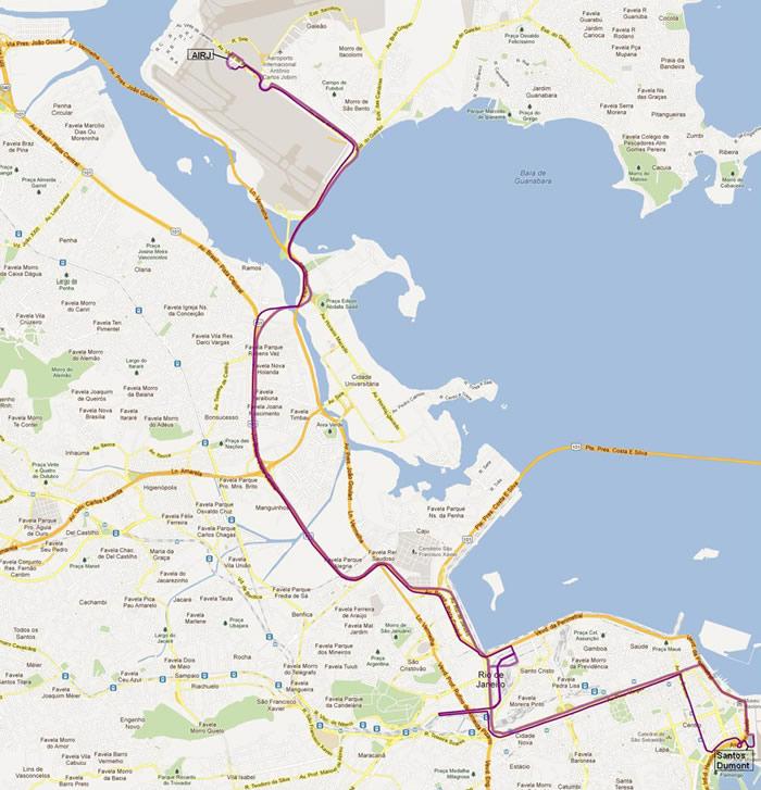 avenida do brasil mapa Como chegar/sair do Aeroporto do Galeão – Rio de Janeiro | Quatro  avenida do brasil mapa