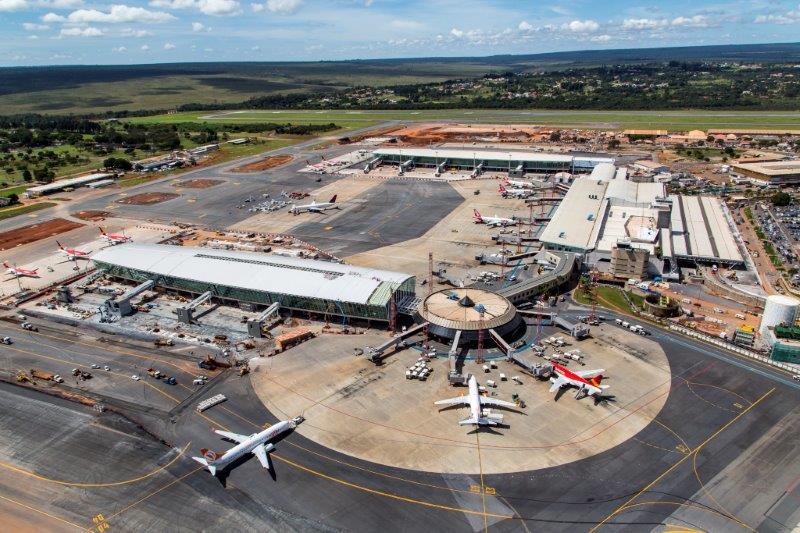 Como chegarsair do Aeroporto de Braslia  Quatro Cantos do Mundo