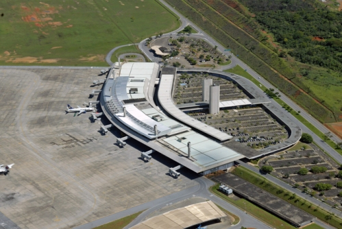 Confins o quinto maior aeroporto do Brasil