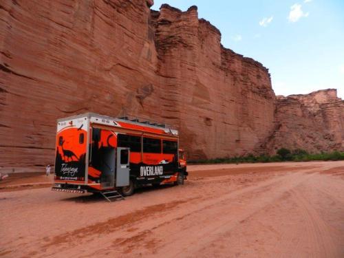 Caminhão usado no tour