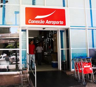 Guichê do Conexão Aeroporto no Terminal Belo Horizonte