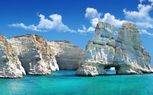 As incríveis formações de Kleftiko (Foto do site en.protothema.gr)
