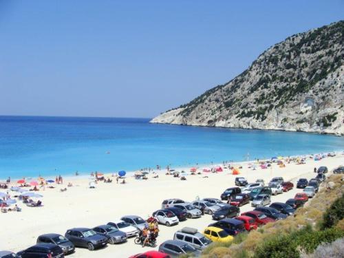 ou a praia de Myrtos?