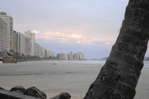 Praia das Pitangueiras, uma das mais famosas do Guarujá