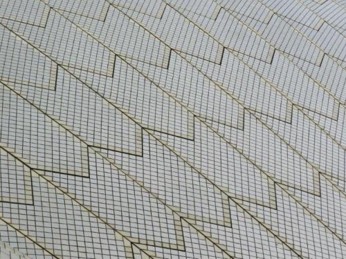 Algumas das mais de 1 milhão de telhas de Sydney