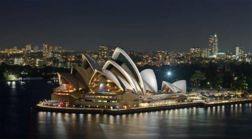 Vista noturna (foto do site Wikipedia)