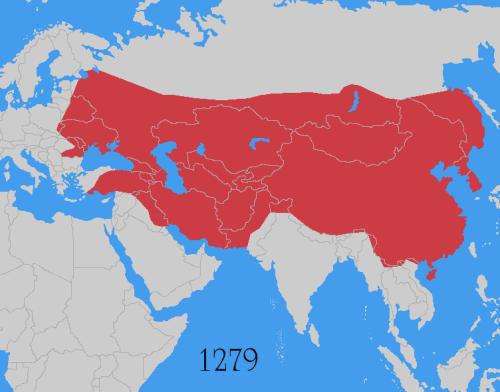 o maior império em extensão territorial que já existiu