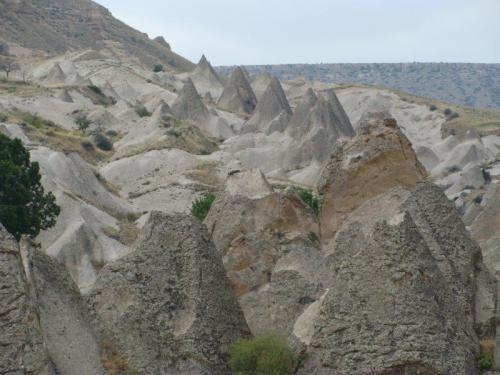 Cada novo lugar visitado uma nova formação rochosa