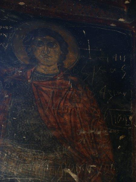Frescos no Monasterio Keslik
