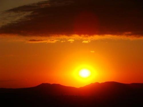 E para terminar o por do sol