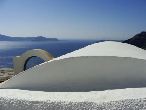 Em Fira a vila mais famosa de Santorini as vistas são ainda mais belas