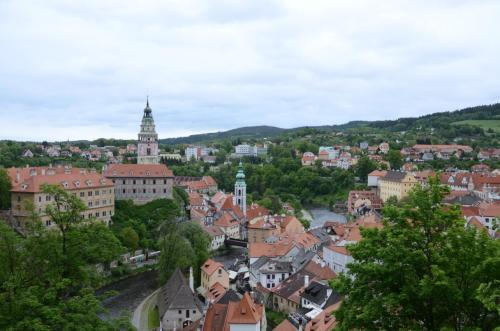 Vista da cidade de cima do castelo