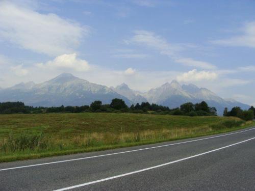 A beleza das montanhas no Tatra National Park
