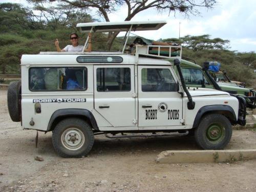 4X4 usado em nosso safari