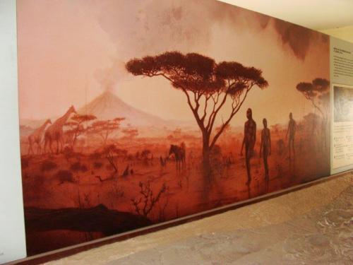 Museu em Olduvai Gorge