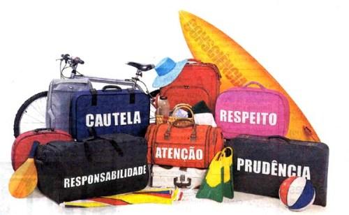Além de uma apólice nunca é demais levar estes itens na bagagem