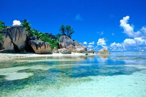 Anse Source D'Argent em Seychelles
