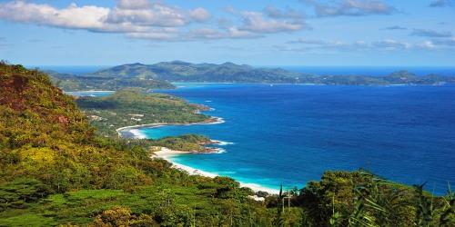Mahé, o seu porto de entrada e saída de Seychelles