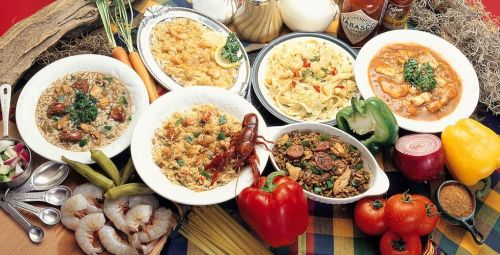 Cozinha creole. Só para os fortes