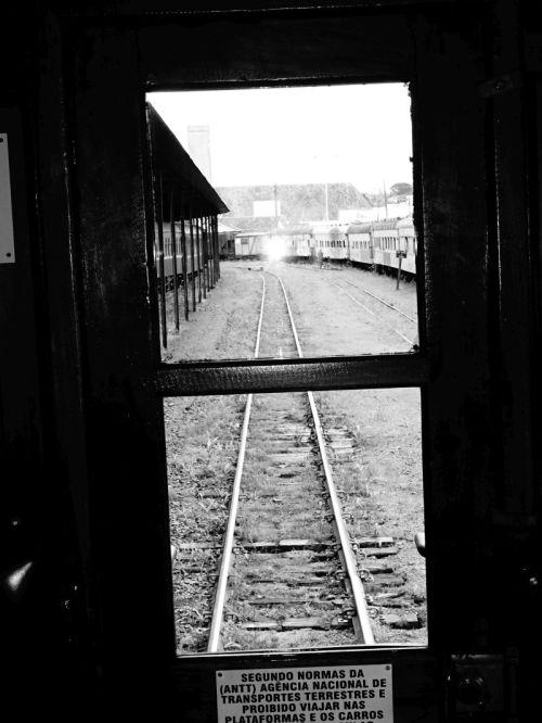 Uma foto em preto e branco para lembrar do passado