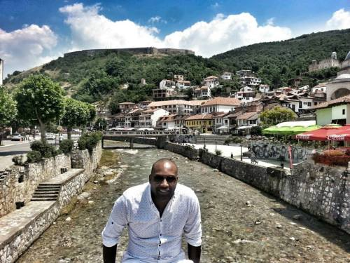 Incrível vista de Prizren