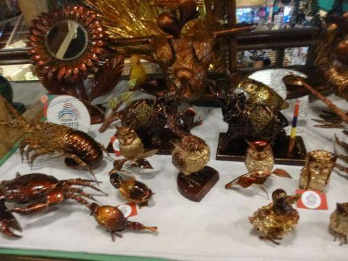 Melhor mercado de artesanato no Caudan Waterfront