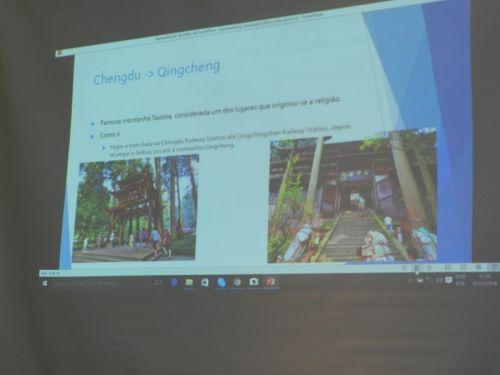 Falando de Chengdu