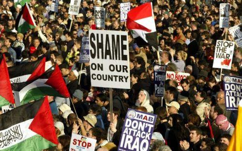 Manifestações contra a guerra do Iraque