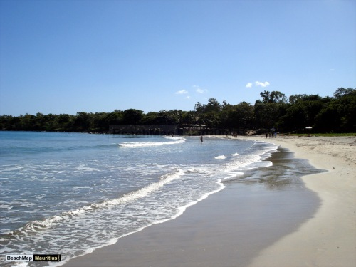 Tamarin parece mesmo Ubatuba (foto do site: beachmap-mauritius.com)