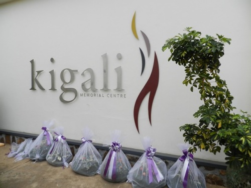 Entrada do memorial do genocídio em Kigali - Ruanda