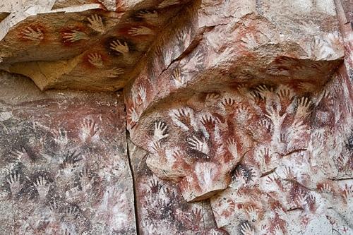 Nem parece de verdade, mas está nestas paredes faz 9.000 anos