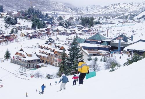 Base da estação de esqui Cerro Catedral