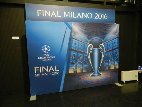A última final de Champions foi em Milão