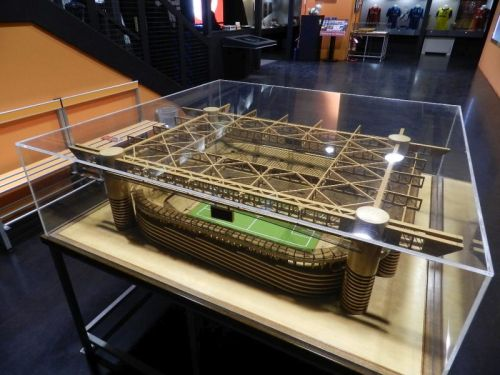 Maquete do estádio