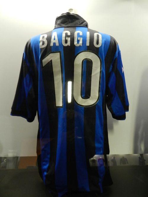 Nem lembrava mas Baggio jogou na Inter no fim da carreira