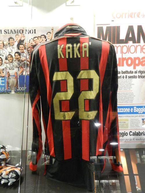 O não menos idolatrada Kaká