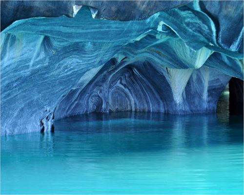 Interior da caverna