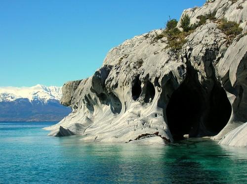 Caverna vista por fora