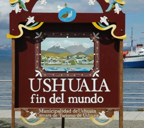 Ushuaia mais conhecido como o fim do mundo