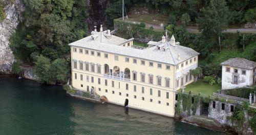 A famosa Villa Pliniana